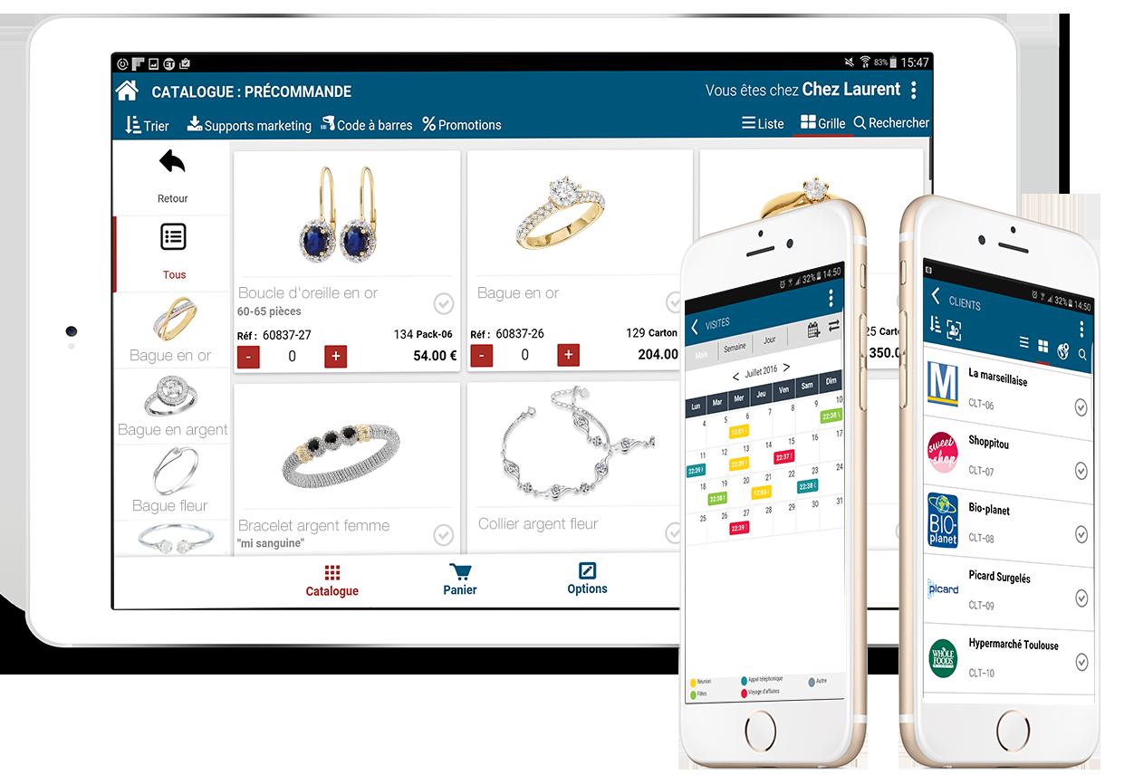 compositiontablet catalogue w mobile visite client (Fr)