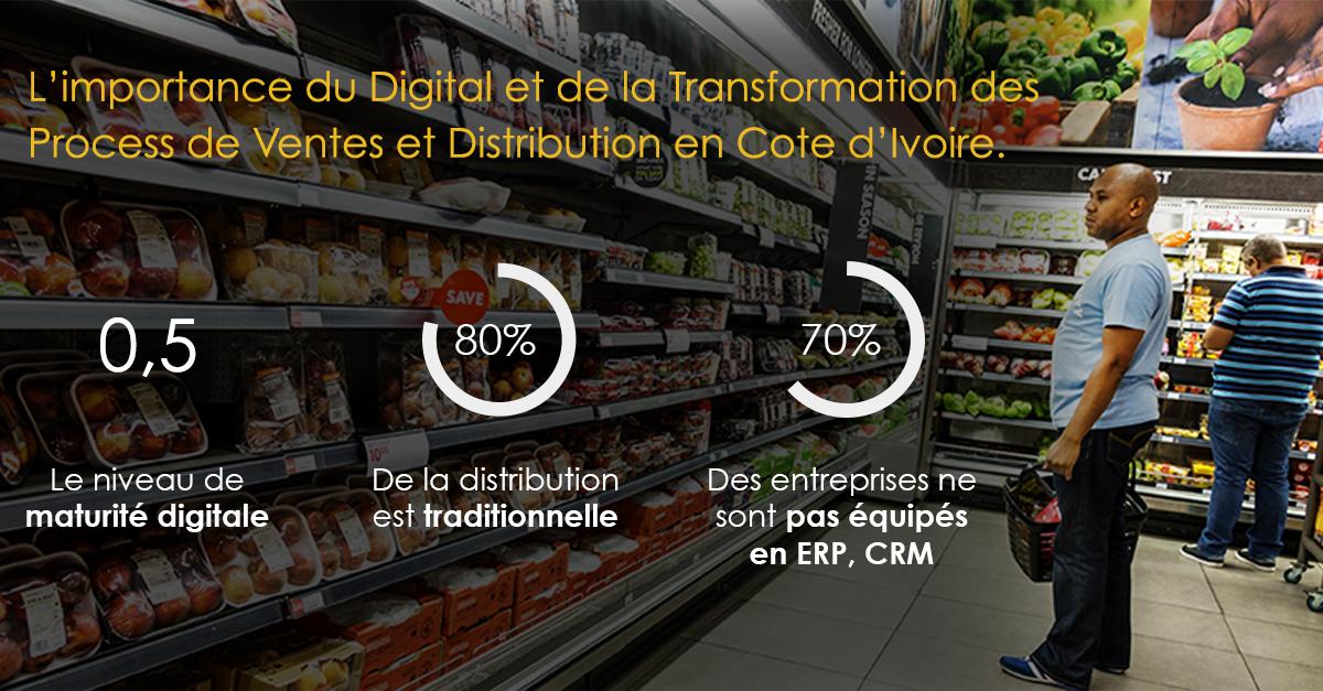 Cote d'Ivoire : L'importance du digital et de la transformation des process de vente et de distribution