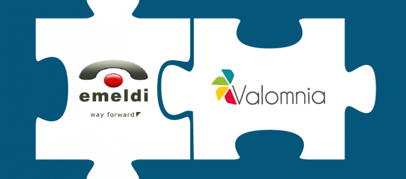 Valomnia and Emeldi Announce Technology Partnership to deliver a full End to End Omnichannel Experience